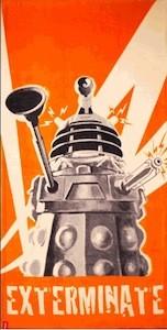 Doctor Who Dalek Towel