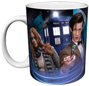 Amy Pond And The Doctor Mug