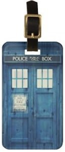 Tardis Luggage Tag
