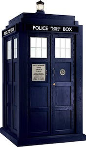 Doctor Who Tardis Cardboard Cut Out