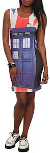 Doctor Who Tardis Union Jack Dress