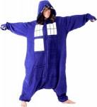 Doctor Who Tardis Kigurumi costume pajama