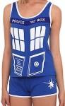 Doctor Who Tardis Sleepwear