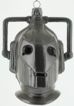 Doctor Who Cyberman head ornament