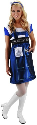 Doctor Who Tardis Halloween Costume Dress