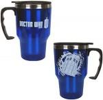 Doctor Who Tardis and Logo Tavel Mug