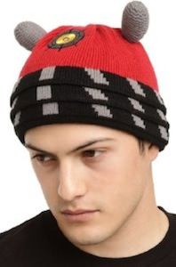Dr. Who Red Dalek Beanie Hat