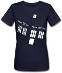 Dr. Who angled Tardis t-shirt