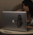 Doctor Who Dalek Laptop Decal