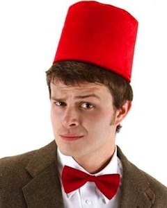 11th Doctor Bow Tie And Fez