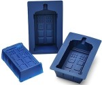 Doctor Who Tardis shaped cupcakes