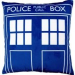 Doctor Who Tardis 16 Inch Pillow