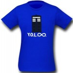 Dr Who YOLO Infinity T-Shirt