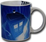 Doctor Who Blue And White Tardis Mug