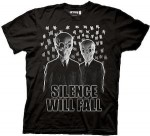 Doctor Who Silence Will Fall T-Shirt