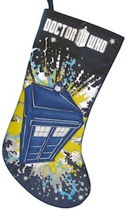 Dr. Who Tardis Christmas Stocking