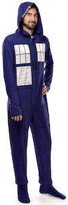 Dr. Who Tardis One Piece Pajama