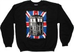 Dr. Who Union Jack Tardis Sweatshirt