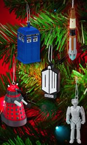 Doctor Who 5 Piece Christmas Ornament Set