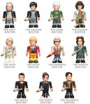 Doctor Who Action Figures Set Of First 11 Doctors