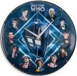 Dr. Who 11 Doctors Wall Clock