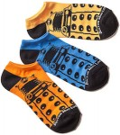Doctor Who Low Cut Dalek Socks