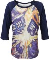 Dr. Who Exploding Tardis Long Sleeve T-Shirt