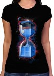 Shop Doctor Who Tardis Hourglass T-Shirt
