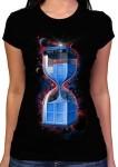 Shop Doctor Who Tardis Hourglass T-Shirt