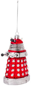 shop for your Red Dalek Christmas Ornament