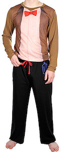 Dr. Who 11th Doctor Costume Pajama Set