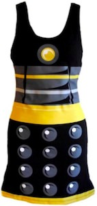 Shop Doctor Who Black Dalek Tank Dress