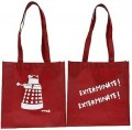 Doctor Who Red Dalek Tote Bag