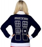 Dr. Who Tardis Union Jack Cardigan