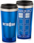 Dr. Who Tardis Travel Mug