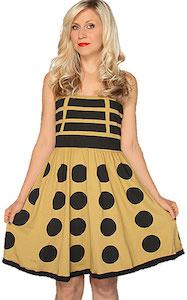 Dr. Who Gold Dalek Dress