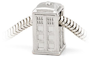 Dr. Who Tardis Charm For Charm Bracelet