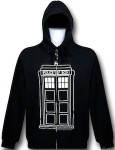 Dr. Who Doctor Who Tardis Follow Me Hoodie