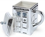 Shop Doctor Who Tardis 3D Chrome Mug