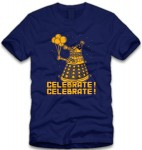 Dr. Who Dalek Celebrate T-Shirt