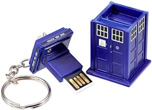 Dr. Who Tardis USB Flash Drive