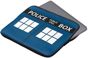 Dr Who Tardis Laptop Sleeve