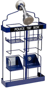 Dr. Who Tardis Shower Rack