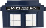 Dr. Who Tardis die-cut Belt Buckle