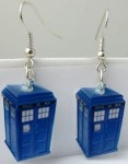 Dr. Who Tardis Earrings