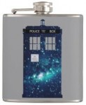 Doctor Who Tardis Galaxy Flask