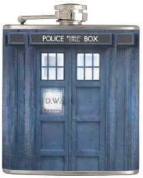 Doctor Who Tardis Galaxy Flask
