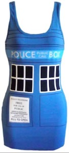 Dr. Who Tardis tank top dress