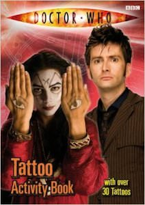 Dr Who Tattoo Activity Book