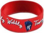 Dr. Who Wibbly Wobbly Timey Wimey Wristband